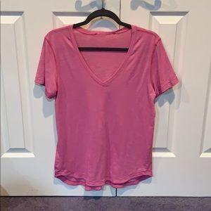 Lululemon pink love t size 8